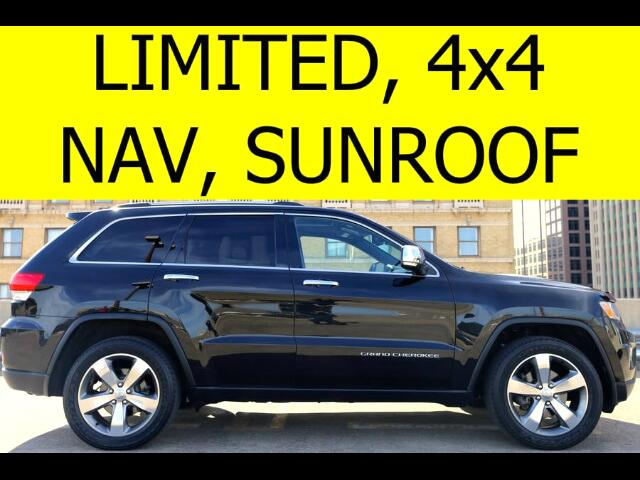 2014 Jeep Grand Cherokee 4WD Limited NAVI SUNROOF