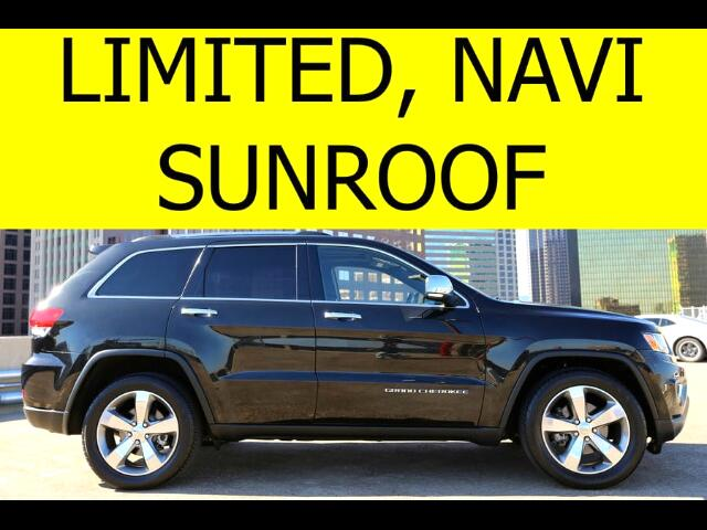 2014 Jeep Grand Cherokee Limited Sunroof Navigation