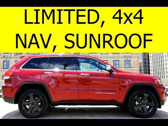 2014 Jeep Grand Cherokee 4x4 LIMITED NAVIGATION SUNROOF