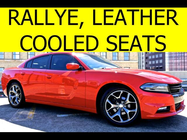 2015 Dodge Charger Rallye LEATHER COOLED SEATS