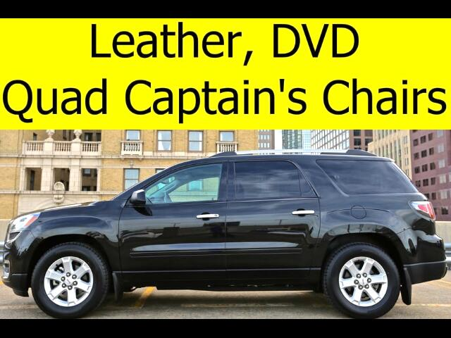 2014 GMC Acadia LEATHER DVD QUADS BLUETOOTH HEATED SEATS