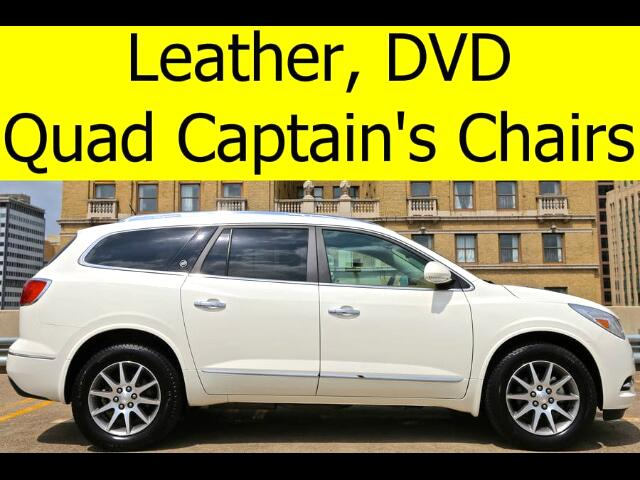 2014 Buick Enclave LEATHER DVD QUADS