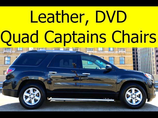 2014 GMC Acadia LEATHER DVD QUAD CHAIRS BLUETOOTH
