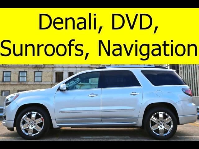 2014 GMC Acadia DENALI QUAD CHAIRS DVD NAVIGATION SUNROOFS