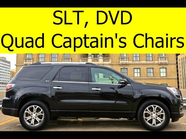 2014 GMC Acadia LEATHER DVD BOSE SOUND QUAD CHAIRS