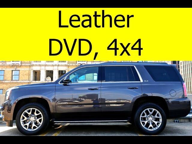 2015 GMC Yukon LEATHER DVD BOSE SOUND 4x4