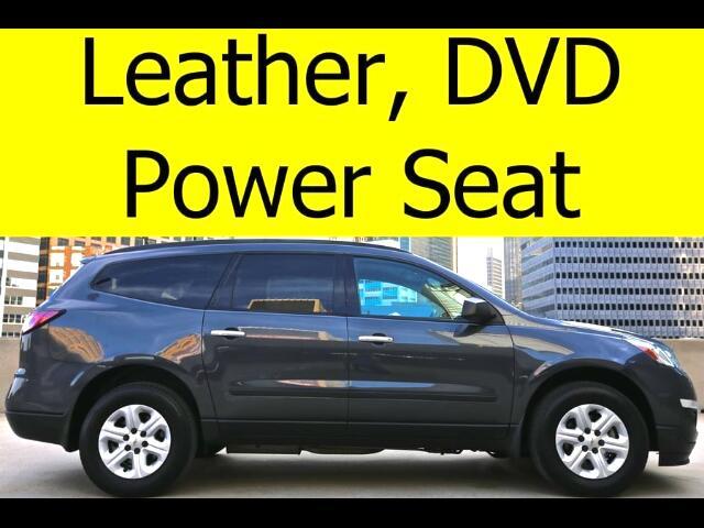 2014 Chevrolet Traverse LEATHER DVD BLUETOOTH POWER SEAT