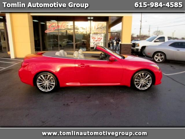2011 Infiniti G37 Convertible 2dr Base
