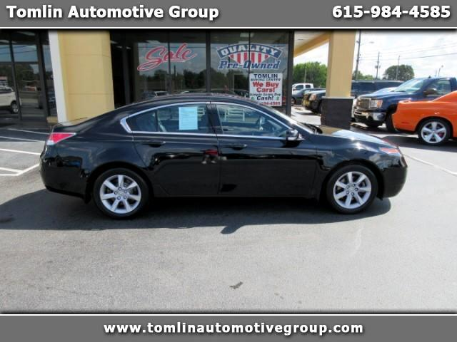 2013 Acura TL 6-Speed AT with Tech Package and 18-In. WP