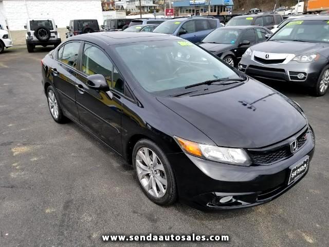2012 Honda Civic Si Sedan 6-Speed MT