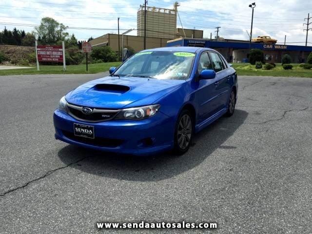used 2010 subaru impreza wrx premium 4 door for sale in reading pa 19601 senda auto sales inc. Black Bedroom Furniture Sets. Home Design Ideas
