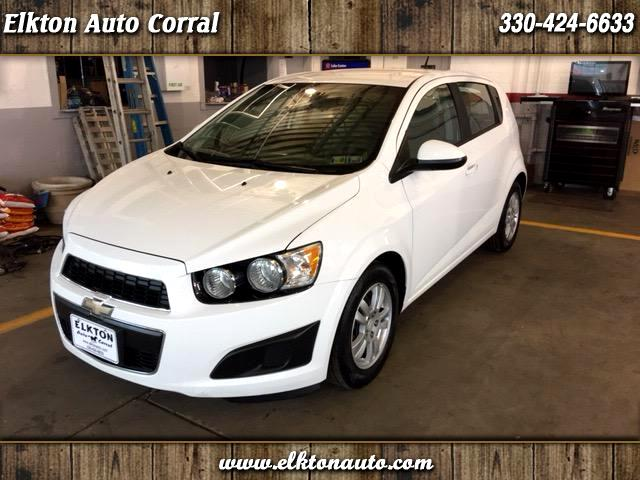 2012 Chevrolet Sonic LS Manual Sedan
