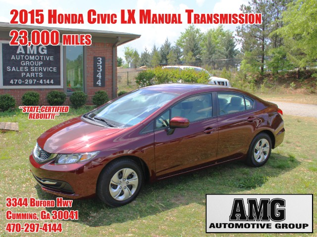 2015 Honda Civic LX Sedan 5-Speed MT