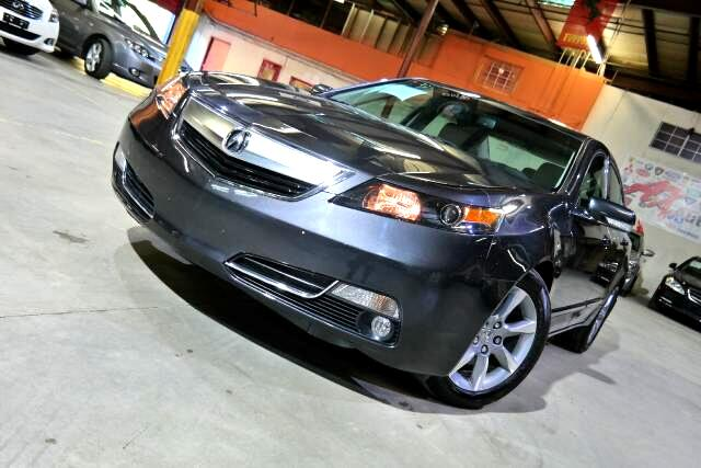 2012 Acura TL 6-Speed AT with Tech Package