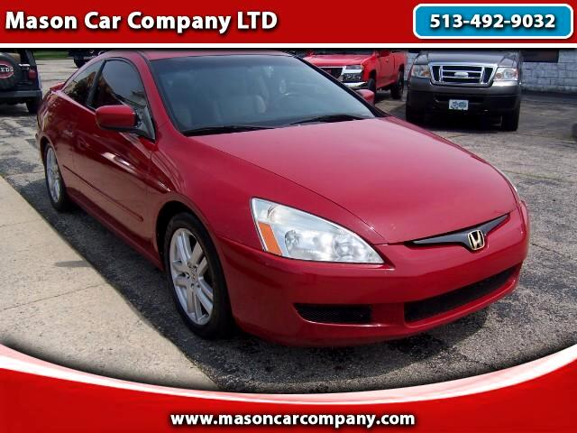 2004 Honda Accord EX-L V-6 Coupe 6-Speed
