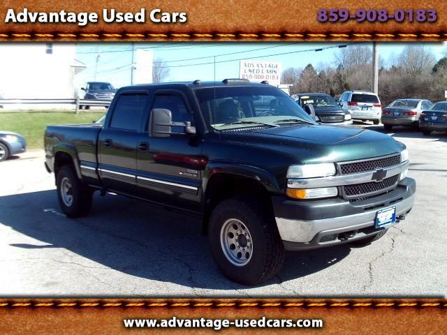 2001 Chevrolet Silverado 2500HD Crew Cab 4WD