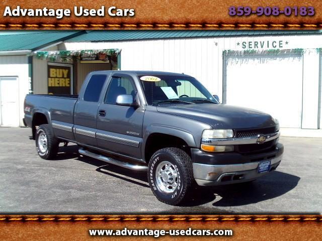 2002 Chevrolet Silverado 2500HD LT Ext. Cab Long Bed 4WD
