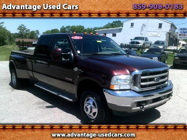 2004 Ford F-350 SD King Ranch Crew Cab Long Bed DRW 4WD