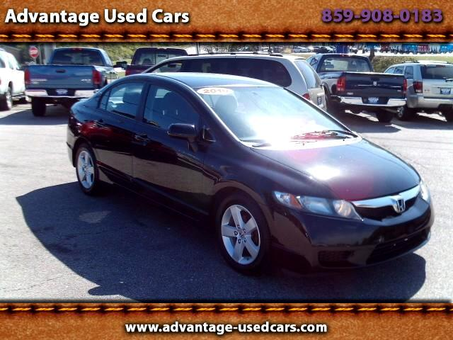 2010 Honda Civic LX-S Sedan 5-Speed MT