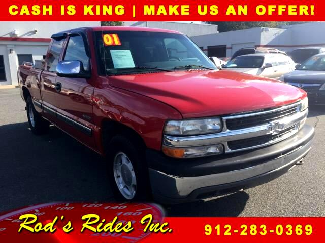 2001 Chevrolet Silverado 1500 LT Ext. Cab 3-Door Short Bed 4WD