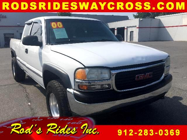 2000 GMC Sierra 1500 SLE Ext. Cab 4-Door Short Bed 4WD