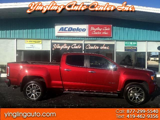 2017 GMC Canyon Denali Crew Cab 4WD Long Box