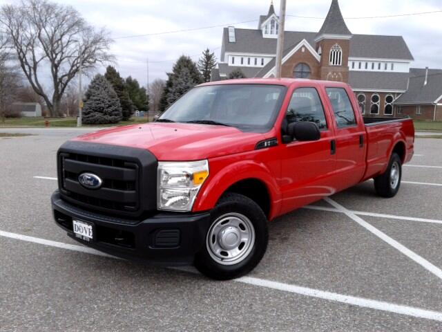 2011 Ford F-250 SD XL Crew Cab Long Bed 2WD