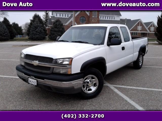 2004 Chevrolet Silverado 1500 Work Truck Ext. Cab 4WD