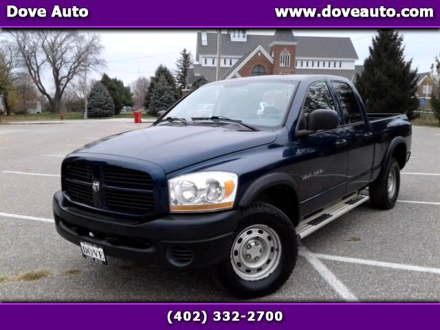 2006 Dodge Ram 1500 ST Quad Cab Short Bed 4WD