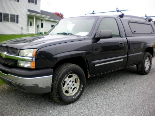 2004 Chevrolet Silverado 1500 Z71 Long Bed 4WD
