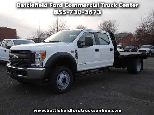 2017 Ford F-450 SD 2WD Crew Cab w/ 12' Flat Bed