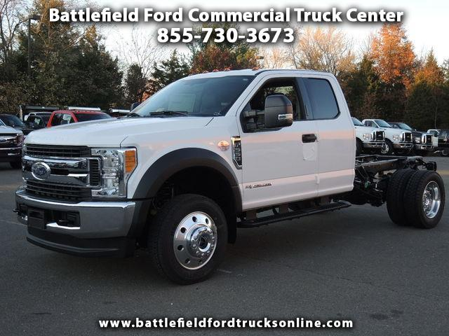 2017 Ford F-550 4WD SuperCab 168 WB