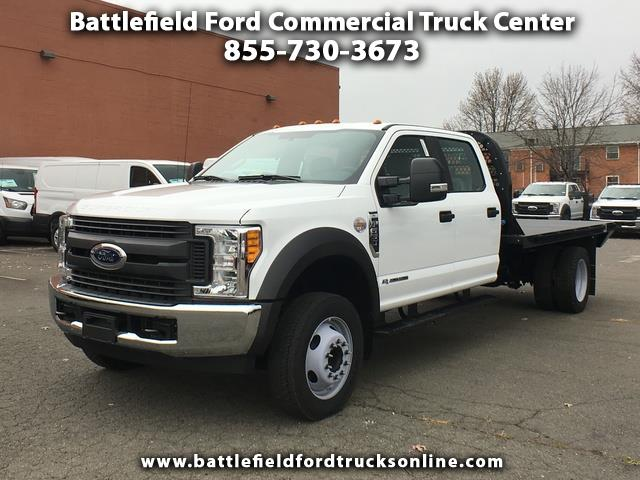 2017 Ford F-550 2WD Crew Cab w/12' Flat Bed