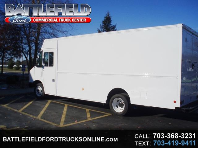 2018 Ford Stripped Chassis 16' STEP VAN
