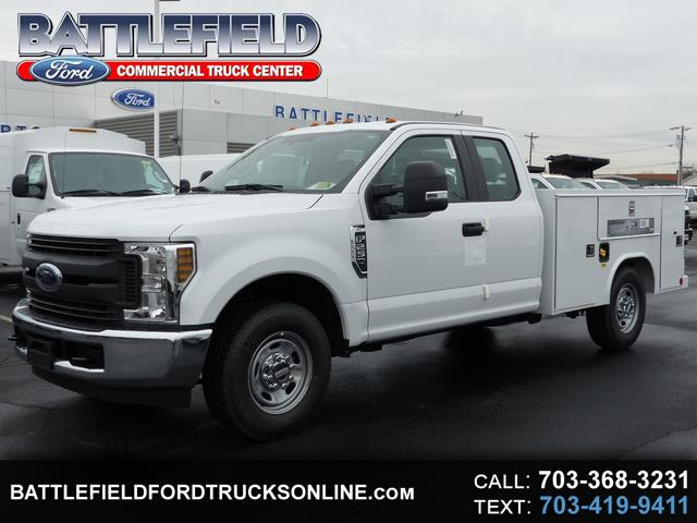 2018 Ford F-250 SD SuperCab XL w/ 8' Service Body