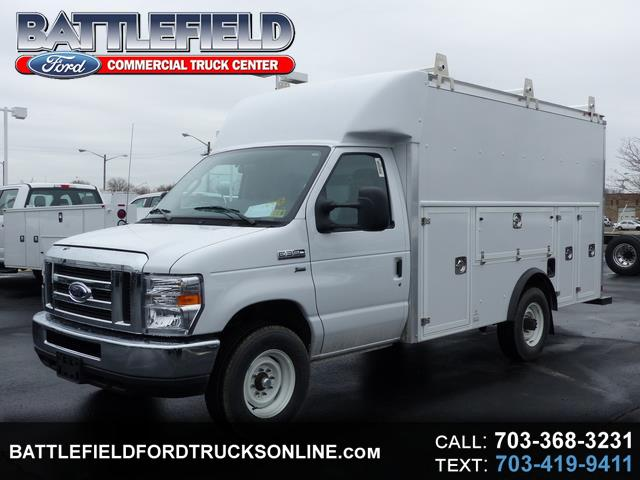 2018 Ford F-350 SD Commercial Cutaway w/12' Utility Van Body