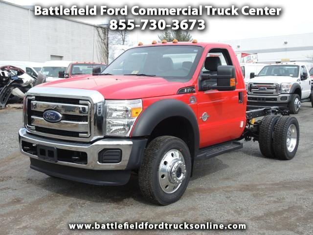 2016 Ford F-450 Reg Cab 4x4 XL