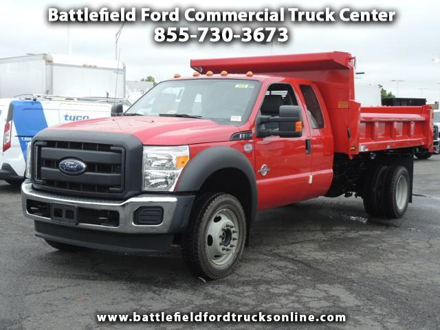 2016 Ford Super Duty F-550 DRW SuperCab 4x4 XL w/11' Dump Body