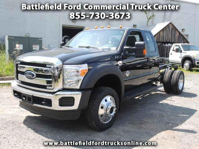 2016 Ford F-450 SuperCab 4x4 XL