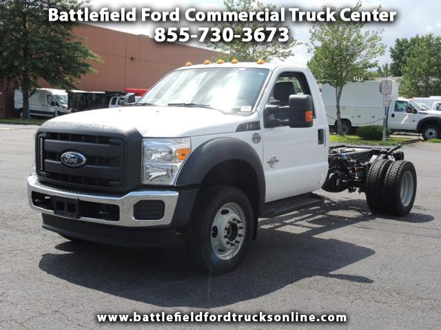 2016 Ford F-550 Reg Cab 4x4 XL