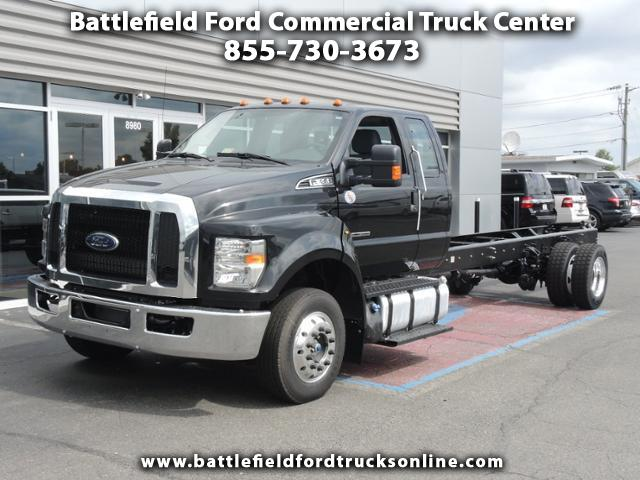 2017 Ford F-650 SuperCab 25,999 GVWR 245 WB