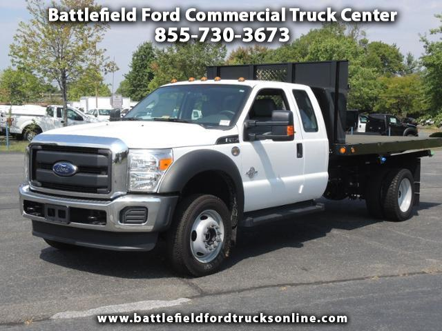 2016 Ford F-450 SuperCab 4x4 XL w/12' Flat Bed Dump Body