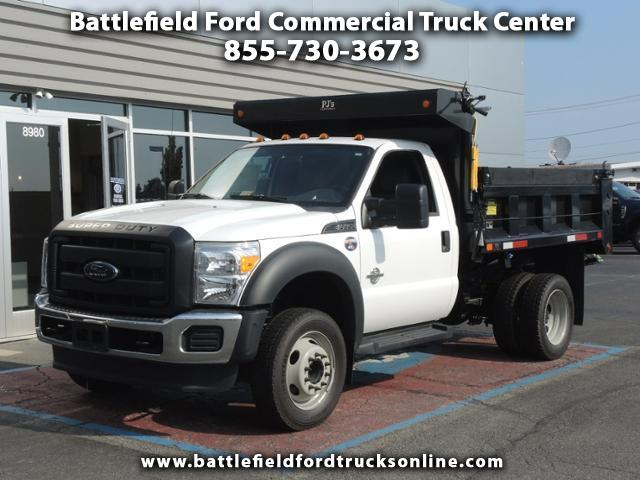 2016 Ford F-450 Reg Cab 4x2 XL w/9' Dump Body