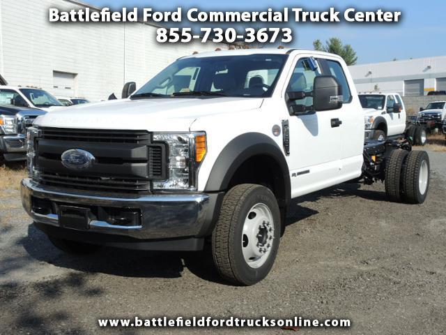 2017 Ford Super Duty F-550 DRW SuperCab 4x2 XL