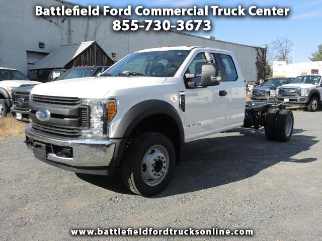2017 Ford F-550 SuperCab 4x2 XL