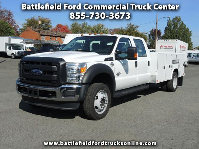 2016 Ford F-450 SD Crew Cab 4x4 XL w/11' Utility Body