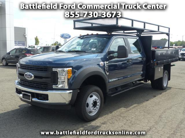 2017 Ford F-450 2WD Crew Cab w/10' Flat Bed