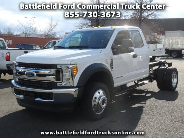 2017 Ford F-450 SD SuperCab 4x4 XLT