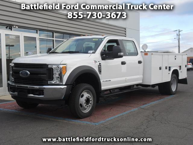 2017 Ford F-450 SD Crew Cab 4x2 XL w/11' Utility Body
