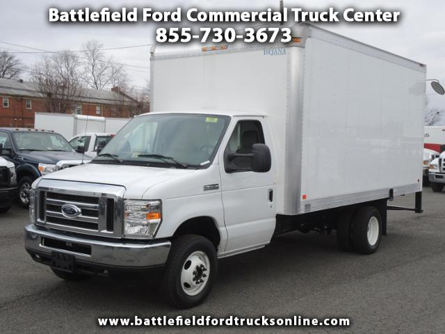 2017 Ford Econoline Commercial Cutaway w/15' Dry Freight Body